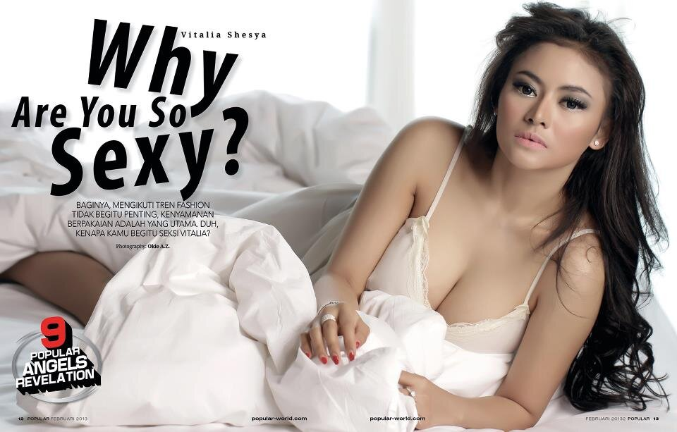 RT @PopularMagz: This February: Vitalia Shesya, Why Are You So Sexy? http://t.co/sdxWUpwD