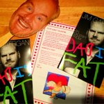 RT @cml1897: Preordered @JimGaffigan new book and this is what I got in the mail : ) http://t.co/DcfwVrUO