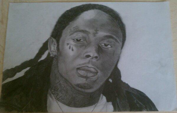 Pencil Drawings Of Lil Wayne  fucktyler my pencil drawing