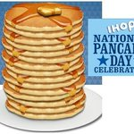 Image of nationalpancakeday from Twitter
