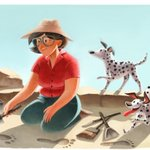 Happy birthday to Mary Leakey, discoverer of the first fossilized Proconsul skull & the Laetoli Footprints