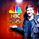 Guess who's in the house? @EvanLysacek #Olympics2014