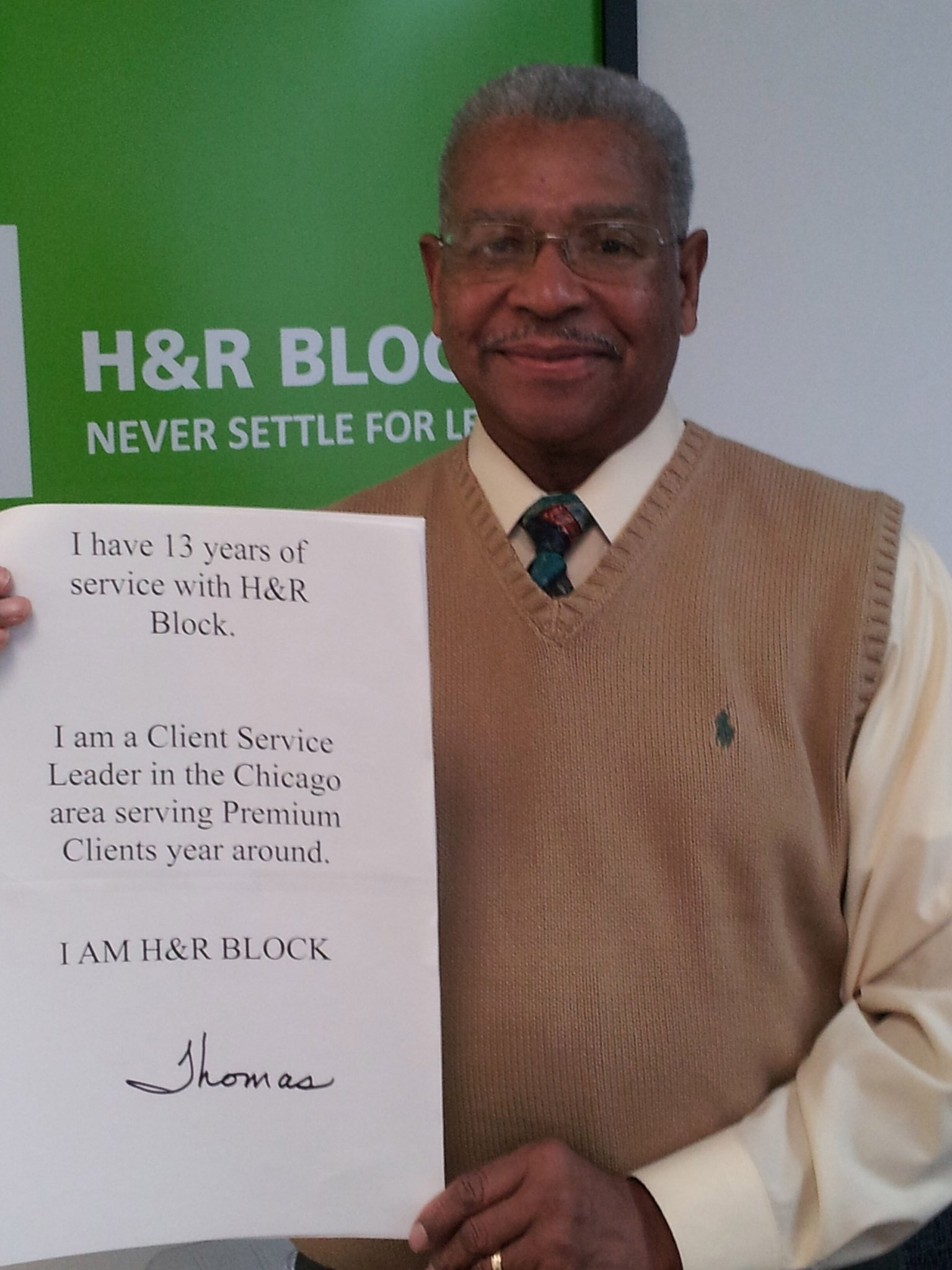 H&R Block's Twitter Photo