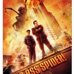 '#BigAssSpider' POSTER w/Me & @LChicoBoyar saving the world!!