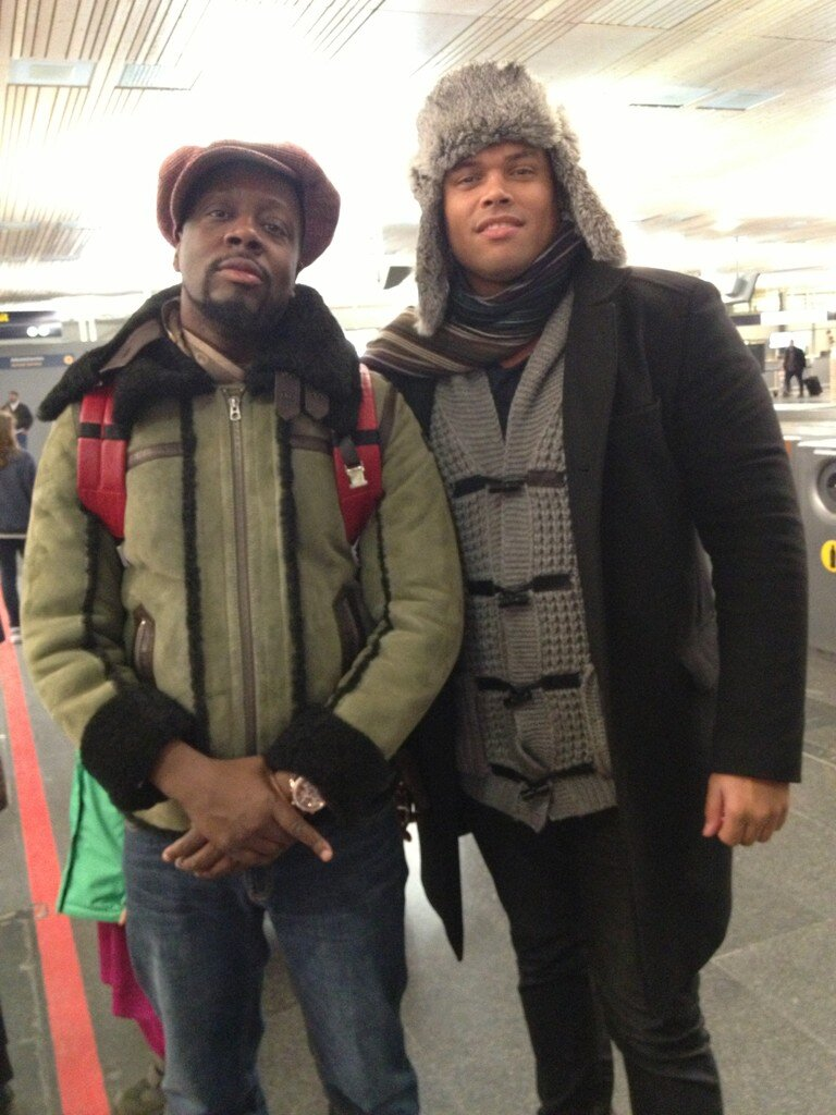 Wyclef Jean's Twitter Photo