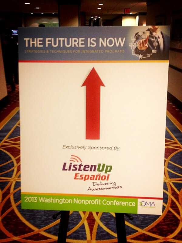 Love this photo from Washington Nonprofit Conference #dcnp2013 @dma_usa [pic] --