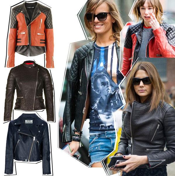 Кожаные косухи Balenciaga, Celine и Acne http://t.co/gSWncAfD
