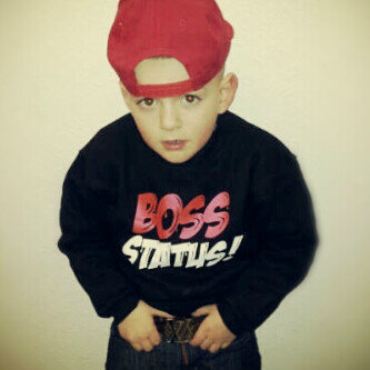 #MiniMe! #DopeGang look at my little cuzzy he's got better dress den half you fuck boys http://t.co/QX1k38M8