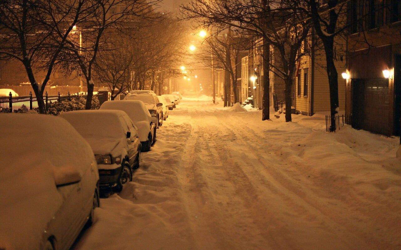 Фотографии на улице зимой 4