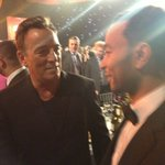 "Me and the boss. ""@tystiklorius: What an amazing night!!"