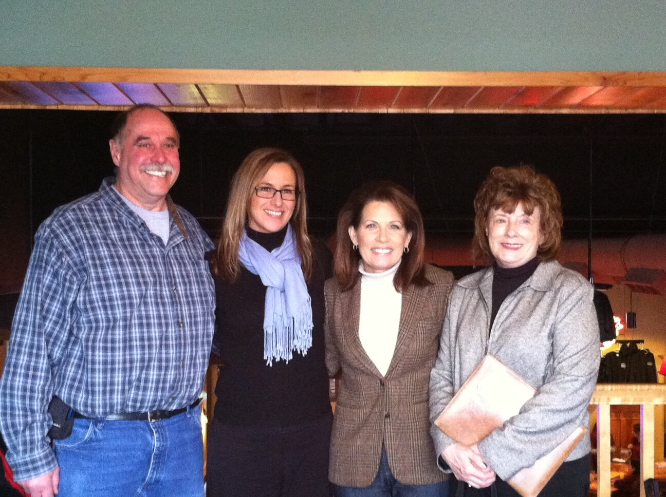 Michele Bachmann's Twitter Photo