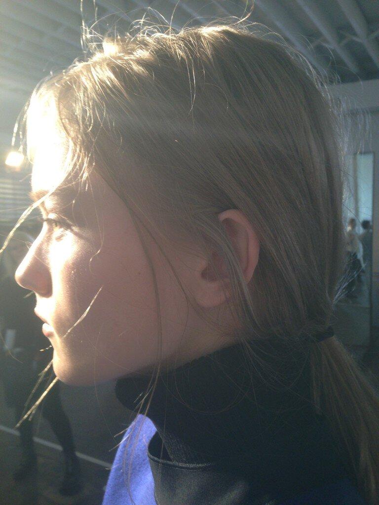 Victoria Beckham's Twitter Photo