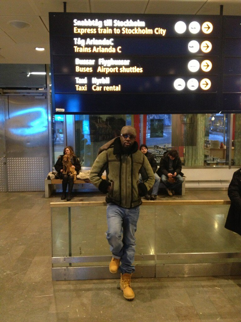 Wyclef Jean's Twitter Photo