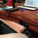 Everything was going fine until @leolaporte broke the table by dancing on it. http://t.co/ZOv32Jgh http://t.co/xoChuqXM