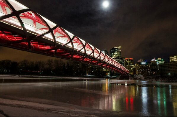 """""""@jtmwallace: @trutriciahelfer Peace Bridge in Calgary, looks Cylon to me though. Very cool http://t.co/6TS2EI5QZV"""" So true!"""