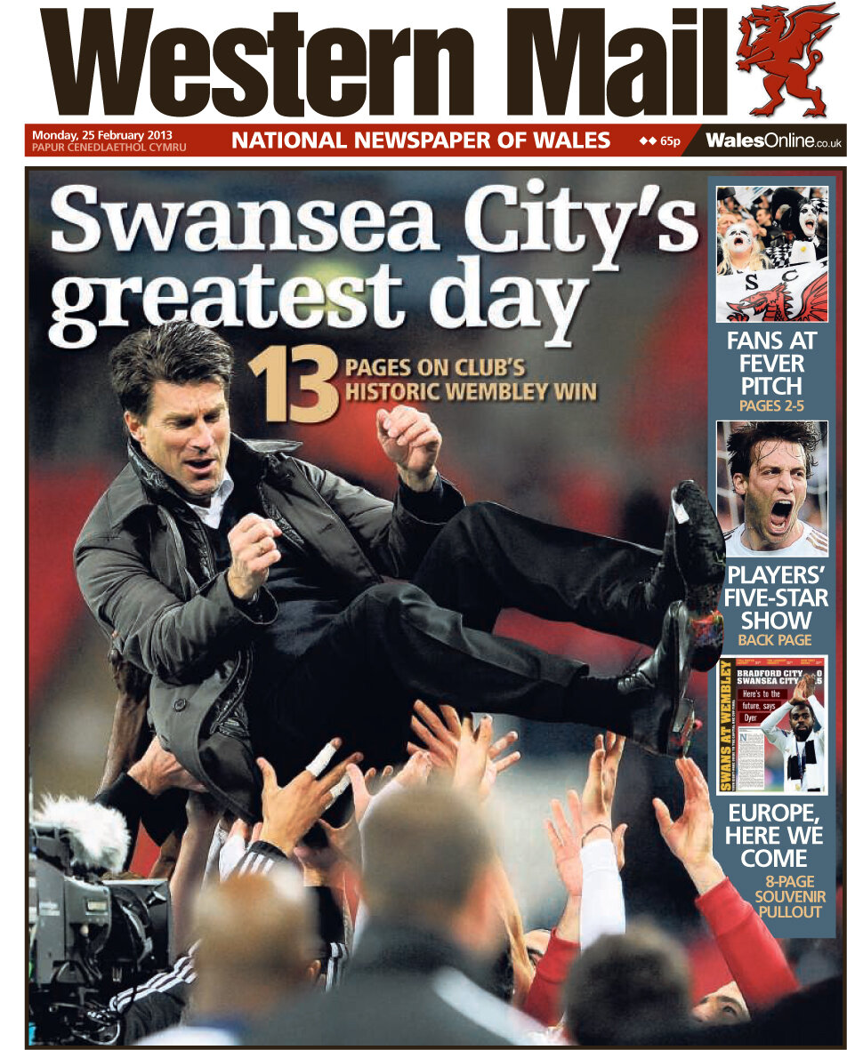 Swansea Laud ed, Arrys awful job at QPR, Chelseas problems bigger than Rafa & Liverpool eye De Vrij and Ben Arfa