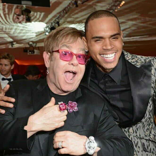 Elton brown gay