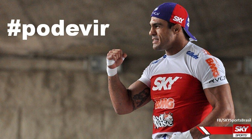 Vitor Belfort's Twitter Photo