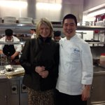 Danny ye the chef of the hot new restaurant Harlow on 56thst. Brainchild of richie notar  a partner of nobu