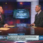 @CellyMorelli, @HermEdwardsESPN just answered your #FanForum question on SC! He would build his defense around Revis.
