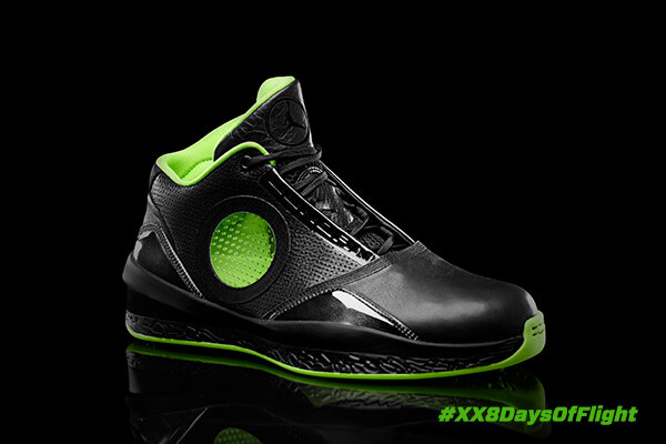 """MJ's ability to """"see through"""" opponents inspired transparent windows on the AJ 2010's upper. #AJ25 #XX8DaysOfFlight http://t.co/7wc4VVBt"""