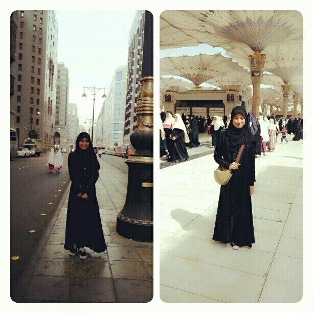 Dulu dapat tengok gambar je, sekarang sendiri kat sini. Kota madinah and masjid nabawi :) Alhamdulillah. http://t.co/isKDIjSX