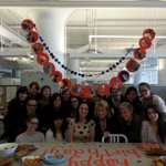 Everyday is party day at martha stewart living  kylee is celebrating her birthday with the design team crafts,pets http://t.co/iQB432bF