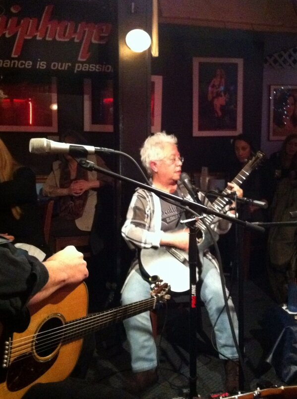 Barry Walsh (@barelywashed): Recent Grammy winner Janis Ian at The Bluebird Cafe tonight in Nashville. Sublime. http://t.co/W3TZOZAD