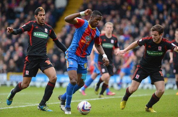Why Sir Alex Ferguson signed him up: Wilfried Zahas highlights (Crystal Palace) v Boro