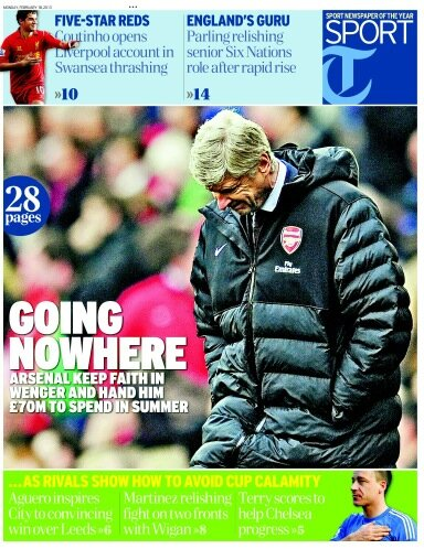 BDVs7YyCcAA G6A Arsenal keep faith in Wenger, French boss handed £70m to spend in the summer
