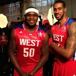 Getting ready for the 2013 #NBAAllStar Game with @aldridge_12 @macbo50