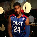 Getting ready for the 2013 #NBAAllStar Game with @paul_george24