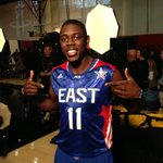 Getting ready for the 2013 #NBAAllStar Game with @jrue_holiday11