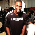 Getting ready for the 2013 #NBAAllStar Game with @chrisbosh