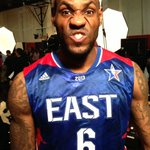 Getting ready for the 2013 #NBAAllStar Game with @kingjames