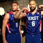 Getting ready for the 2013 #NBAAllStar Game with #BrookLopez @tysonchandler