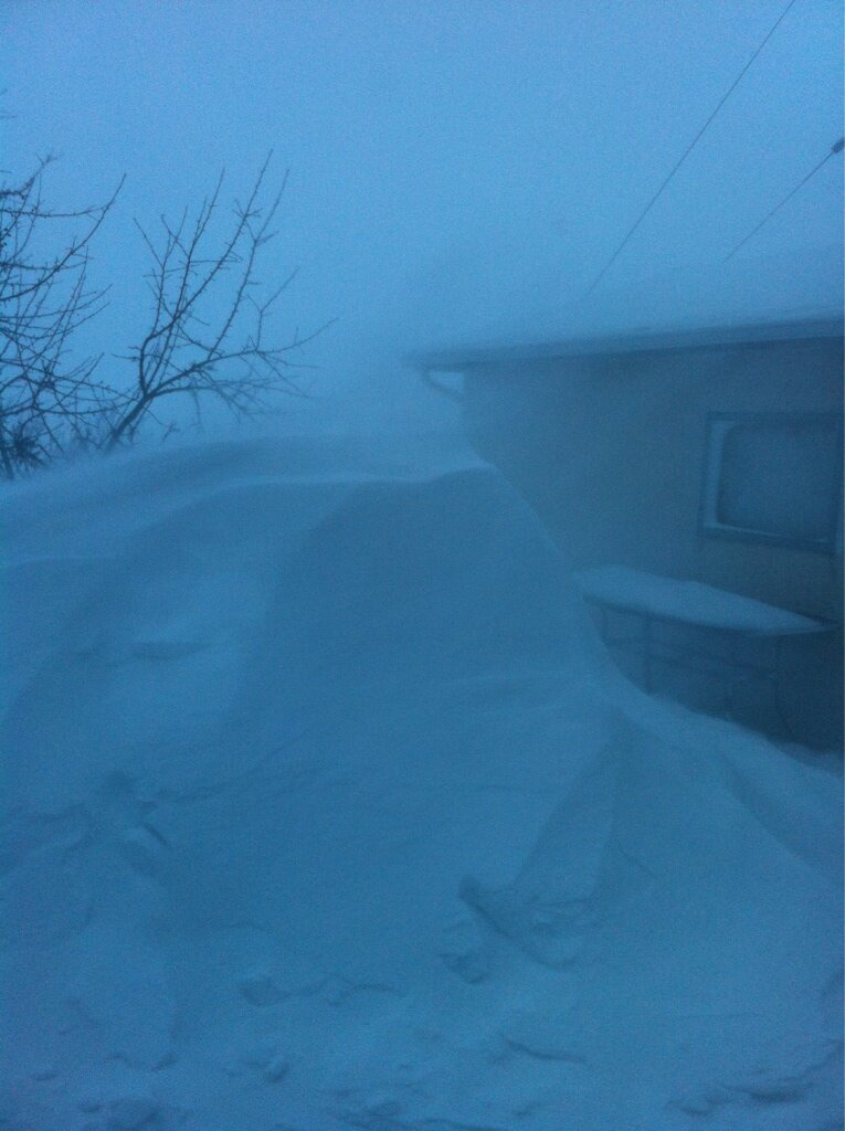 Snow Drifts in Niverville