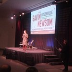 .@pahlkadot introduces @GavinNewsom and @KQEDForum Michael Krasny at Computer History Museum #CHMNewsom