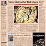 Front page of the Financial Times UK - Thursday, February 21