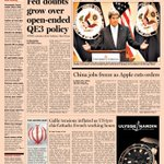 Front page of the Financial Times US - Thursday, February 21