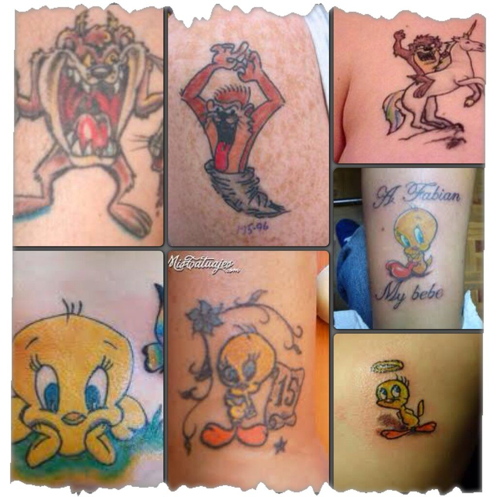 Tatuajes Demonio Tazmania o Del Demonio de Tazmania