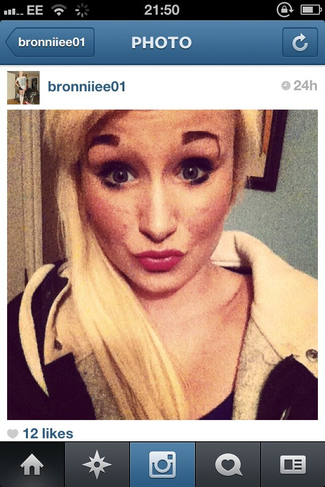 Eyebrows Ever Worst Eyebrows I've Ever
