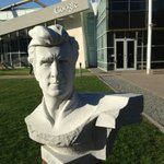 The Googleplex has all these neat giant busts of sea-related celebs. Here's Lloyd Bridges.