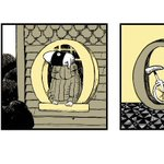 G is for Gorey today, in a doodle honoring the macabre American illustrator
