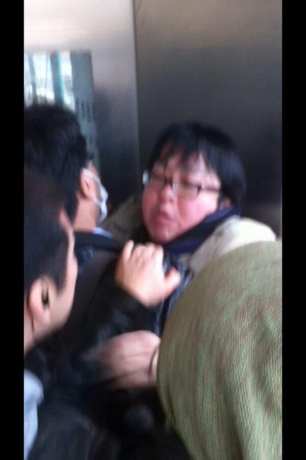 ネトウヨしばき隊「在特会の会長が暴れて公安に顔を殴られていた」