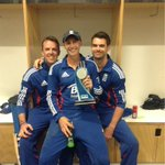 Great series win. Always tough in NZ. Here's man of the moment @joeroot05 with his very proud parents... http://t.co/xkGu3KYfib