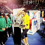 RT @BMATTEK: @MirzaSania taking home some new hardware!! 