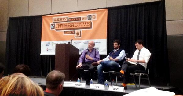 SXSW 13 - Spreadable Media: Value, Meaning & Network Culture (with images, tweets) · huey