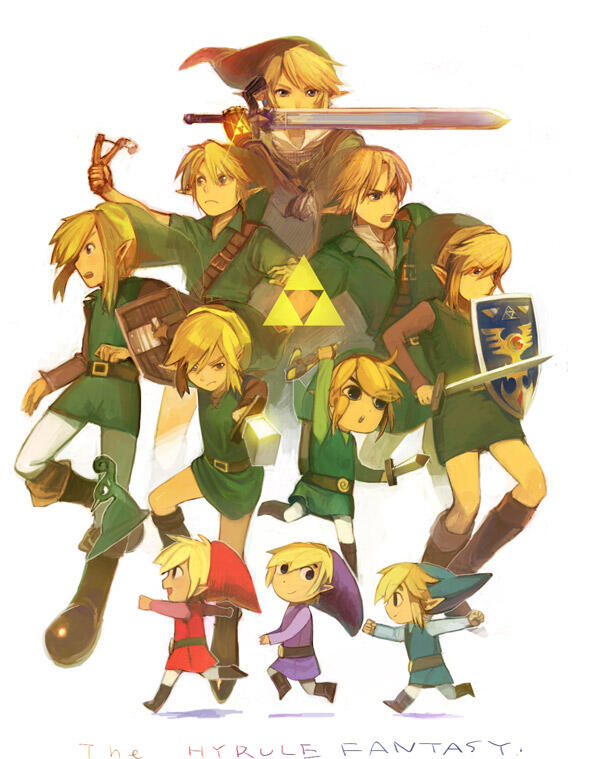 Can you figure out which games the different Links are from? http://t.co/Y3Z9Pi4q7x