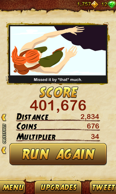 "I got 401676 points while escaping from a Giant Demon Monkey. Beat that! <a class=""linkify"" href=""http://t.co/uBpsrqad9c"" rel=""nofollow"" target=""_blank"">http://t.co/uBpsrqad9c</a> <a class=""linkify"" href=""http://t.co/cY2brCrcPl"" rel=""nofollow"" target=""_blank"">http://t.co/cY2brCrcPl</a>"